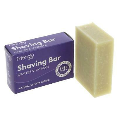 Friendly Soap Natural Shaving Soap 95g (Pack of 6)