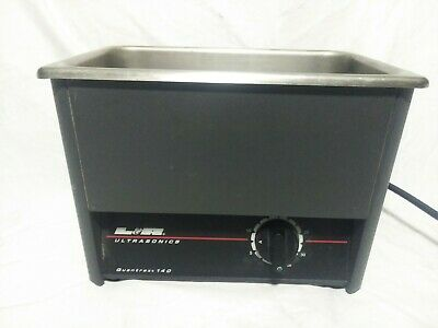 L&R Quantrex 140  Dental Ultrasonic Cleaner Bath for Instrument Cleaning
