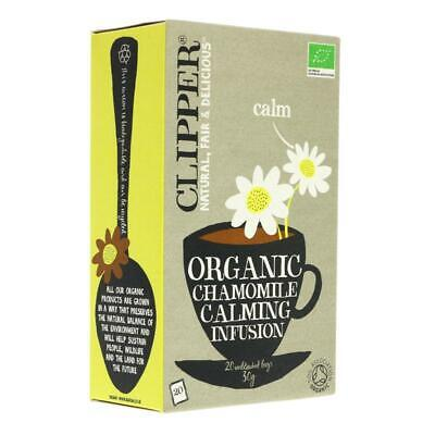 Clipper Chamomile - organic 20 bags (Pack of 6)