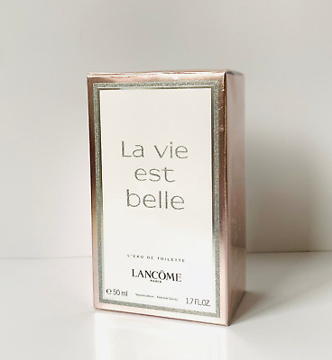 BNIB Lancome La Vie Est Belle Eau de Toilette 50ml EDT Spray for Women
