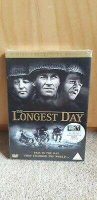 The Longest Day DVD John Wayne brand new and sealed
