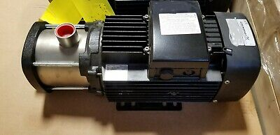4 Stage, 2.3HP, 25GPM, 76PSI, Stainless Drinking Water Chiller Pump,NEW NO-BOX