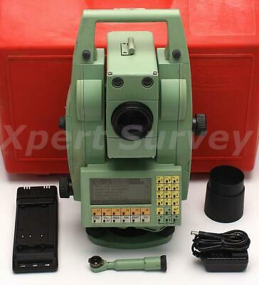 "Leica TCRA1101 Plus 1"" Motorized Auto Target Total Station TPS1100 TCRA-1101"