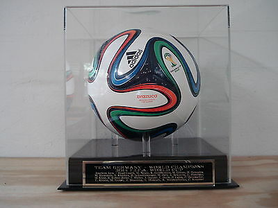 Display Case For Your Germany 2014 FIFA World Cup Champs Autographed Soccer Ball