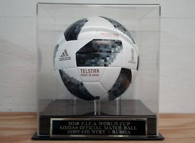 Display Case For Your 2018 FIFA World Cup Soccer Adidas Autographed Soccer Ball