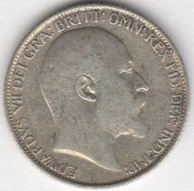 1907 Edward VII Silver Sixpence | British Coins | Pennies2Pounds