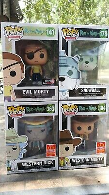 Funko Pop! - Rick & Morty Lot w/ exclusives