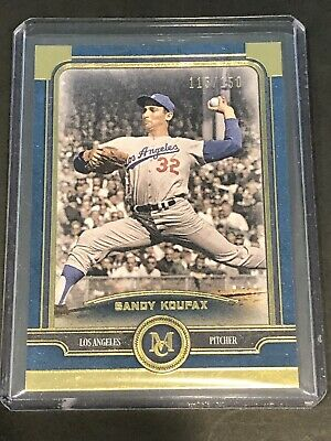 2019 Topps Museum Collection SAPPHIRE Parallel SANDY KOUFAX Card #50 150