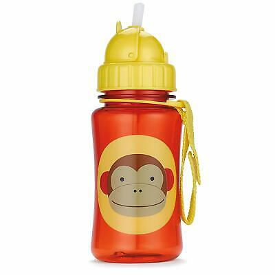 Skip Hop ZOO STRAW BOTTLE LLAMA Kids Straw Pop-Up Drinking Bottle BN