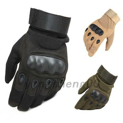 3 Colors Men's Tactical Driving Work Gloves Full Finger Gloves/Mitts Cycling
