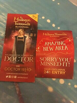 Madamme Tussauds Blackpool 2 for 1 Voucher