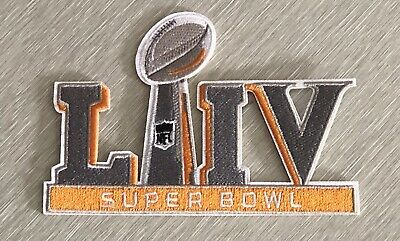"SUPER BOWL 54 LIV PATCH 2019 2020 Season Official Iron Sew On Jersey 5"" Chiefs"