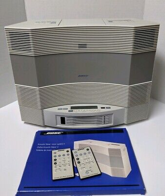 BOSE ACOUSTIC WAVE Music System II, 5-Disc Changer, Case