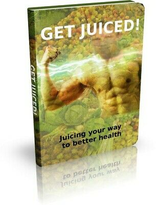 Get Juiced eBook With Master Resell Rights MRR | INSTANT EMAIL DELIVERY