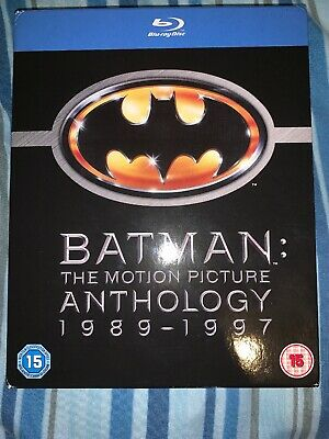 Batman - The Motion Picture Anthology 1989-1997 [Blu-ray][Region F... -  CD GYVG
