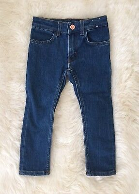 New H&M Toddler Boys Skinny Blue Jeans Pants 2-3 Years