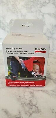 Britax B-Agile Adult Cup Holder S857000 Stroller Accessory Free Shipping
