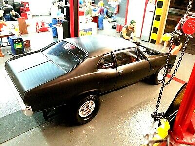 BUILT, 1/25 scale AMT 70s Chevy Nova SS ((for)) Speed Shop style diorama!!
