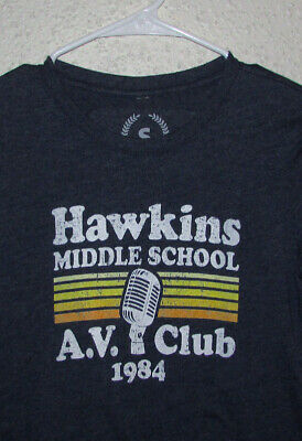 540 Hawkins Middle School Hoodie funny costume show things new vintage retro 80s