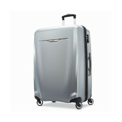 """Samsonite Winfield 3 DLX Spinner 28"""" Checked Luggage - (Silver) - (120754-1776)"""
