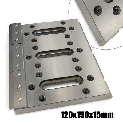 Wire EDM Fixture Board Stainless Jig Tool For Clamping and Leveling 120x150mm US