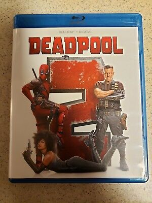 Deadpool 2 (Blu-ray) Blu Ray Disc NO Digital CODE included