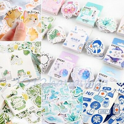 Stationary Laptop Photo Journal Stickers Diary Label Phone Decor Paper Sticker