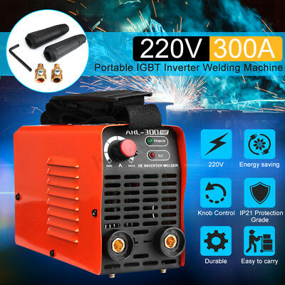 220V ARC 300Amp Stick Welder Inverter MMA Welding Cutter Machine IGBT Portable