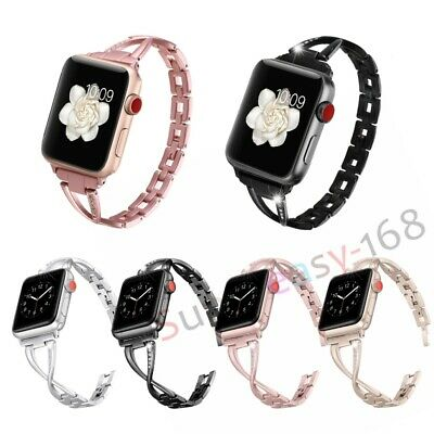 Stainless Steel Bracelet iWatch Band Strap For Apple Watch Series4 3 2 1 42/44mm