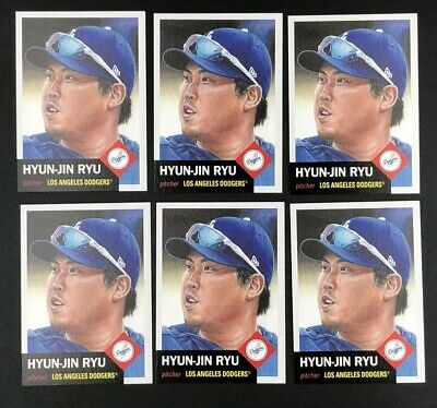 2019 TOPPS LIVING SET #205 HYUN-JIN RYU LOS ANGELES DODGERS *Only 2628 Printed!*