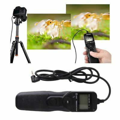 LCD Timer Shutter Release Control Remote Cable Cord for Camera Accessories