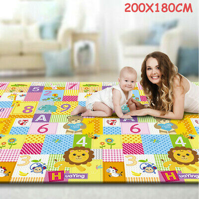 Thicken Baby Crawling Thick Play Mat EVA Foam Mat Educational Alphabet Game USA