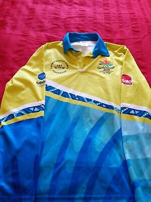 Commonwealth Games 2018 Game Shapers Uniform Polo Shirt - size Large