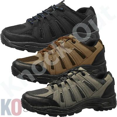 Mens Lace Up Trail Trekking Walking Hiking Shoes Work Boots Trainers Size BNWT