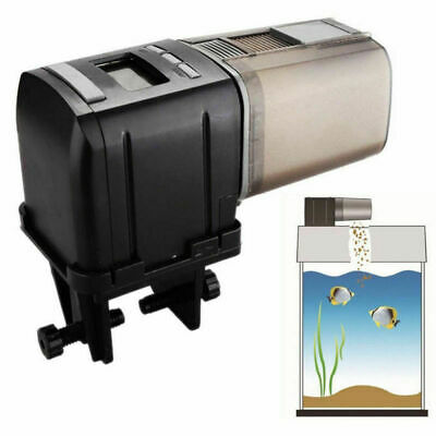 Digital Distributeur Automatique de Nourriture LCD Poisson Aquarium minuteur