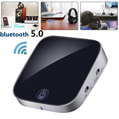 5.0 Wireless bluetooth Audio Receiver Adapter With 3.5mm Transmitter RCA For TV
