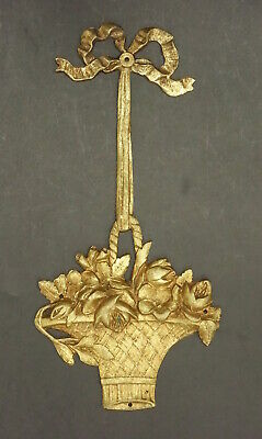 Ornament Stamped, Louis Xvi Style, Era 19Th - Bronze - French Antique
