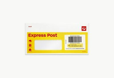 50x DL Window Express Domestic Envelopes - Brand New - Aus Post - 25% off RRP