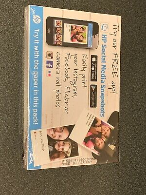 HP CR759A Everyday Glossy Photo Paper - 100 Sheets 4 x 6 in