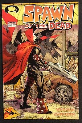 SPAWN #223 Comic Book HOMAGE COVER Todd McFarlane WALKING DEAD Image NM 2012