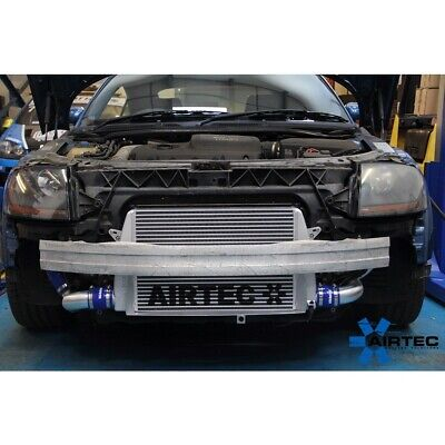 AIRTEC Front Mounted Intercooler Upgrade for Audi TT Mk1 225 (BLUE Hoses)