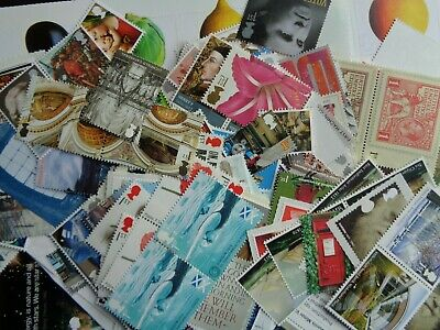100 x 1st Class Stamps (NVI) Mint Never Hinged - Full Gum Ideal Cheap Postage