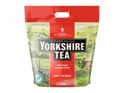 Yorkshire Tea Tea One Cup Tea Bags - 1040 Bags +Free 24h delivery