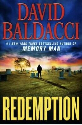 Redemption Memory Man series by David Baldacci HARDCOVER 2019