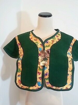 Mommy Bib Stay Dry & Protected Cotton / Nylon/Terry One Size Bib NWT