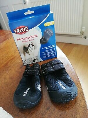 Trixie Walker Active Protective Rubber- Grip Dog Boots. Large 19465. Brand New