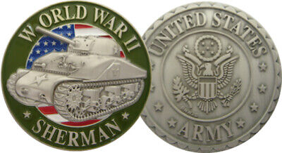 Coins Us Army Sherman 3D