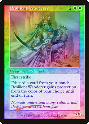 Resilient Wanderer FOIL Odyssey NM White Uncommon MAGIC MTG CARD ABUGames
