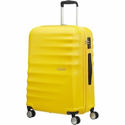 Trolley American Tourister wavebreaker M size spinner 15G*002 sunny yellow