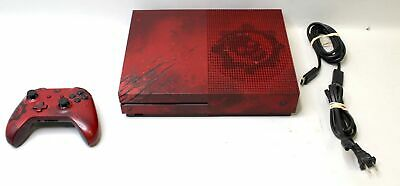 Microsoft Xbox One S 2TB Console - Gears of War 4 TESTED Model 1681